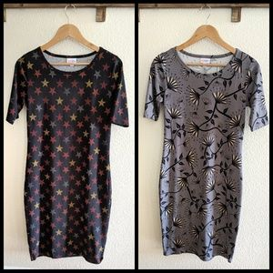 Lot of 2 Lularoe Julia dresses